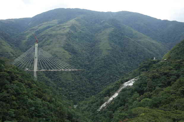 Se reconstruirá el puente Chirajara