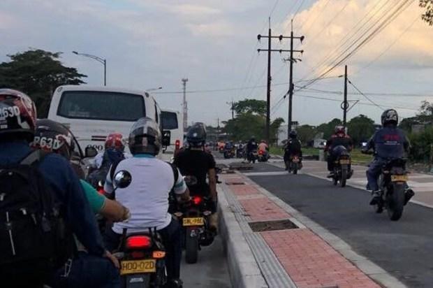 Operativos viales contra quienes invadan bicicarriles y ciclorutas