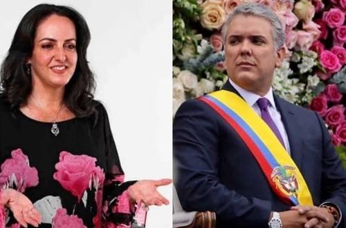 """No llegó gratis"" María Fernanda Cabal a Duque"