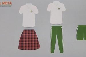 Nuevos uniformes para colegios oficiales del Meta