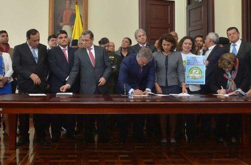 Presidente Duque firmó nuevo paquete anticorrupción