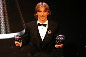 Luka Modric ganó 'The Best '