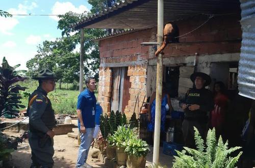 Recuperado mono aullador que se encontraba en cautiverio en San Martín