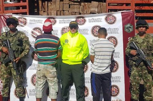 Policía capturó dos hombres por tala indiscriminada en Puerto Gaitán