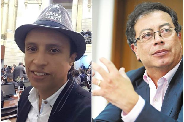 Fuerte agarrón entre Senador 'Manguito' y Senador Petro