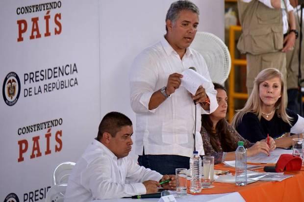 El Presidente Duque estará mañana en Villavicencio
