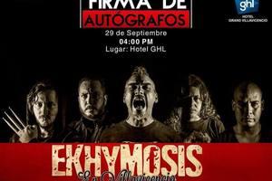 La icónica banda Ekymosis llega a Villavicencio este 29 de septiembre
