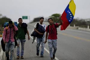 1.9 millones de personas han huido de Venezuela desde el 2015