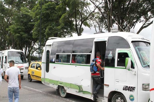 Nueva ruta de transporte público para  Charrascal – Virrey – Charrascal