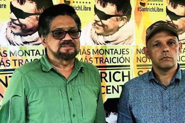 Iván Marquez y el 'Paisa' dicen que les hicieron trampa con la paz