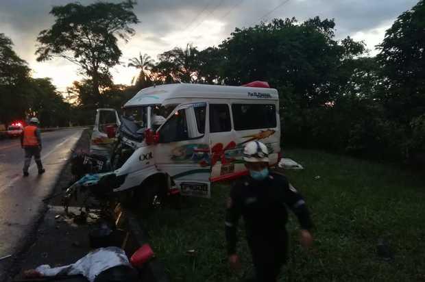 Fatal accidente en la vía Restrepo- Cumaral