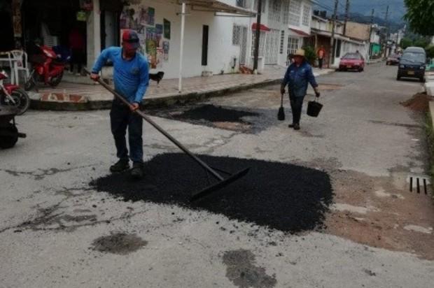 Se realizó recuperación vial en el Barrio el Jordán de Villavicencio