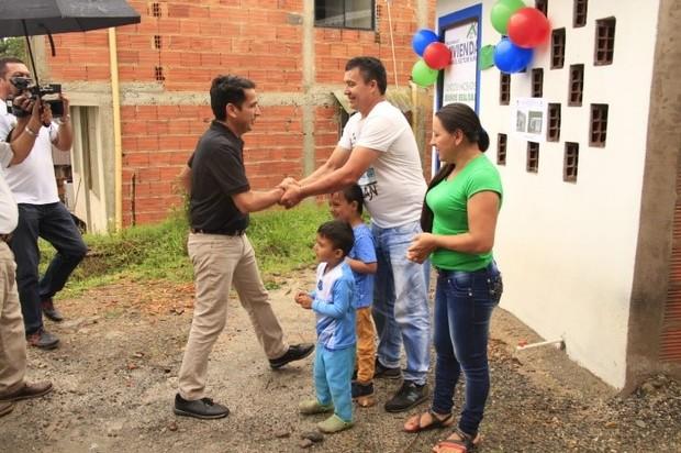 Seis familias del sector rural de villavicencio a estrenar casa