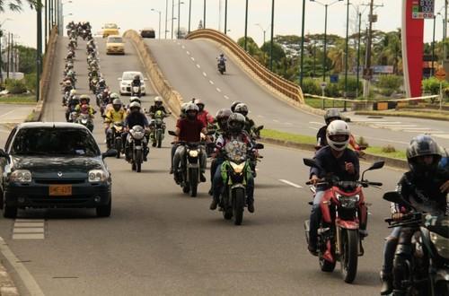 Motociclistas de Villavicencio comprometidos con el medio ambiente