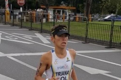 Triatleta Crisitian Triana competirá hoy en Buenos Aires, Argentina
