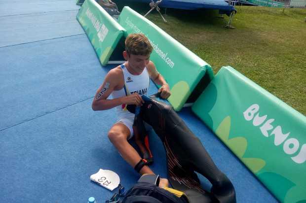 Cristrian Triana segundo mejor latinoamericano en Juegos de la Juventud