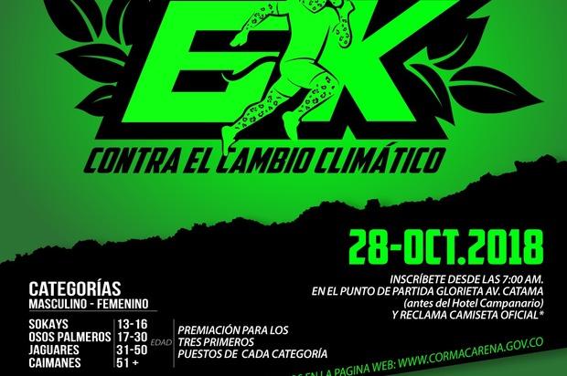 Villavicencio se prepara para la carrera 6k 'Por el cambio climático'