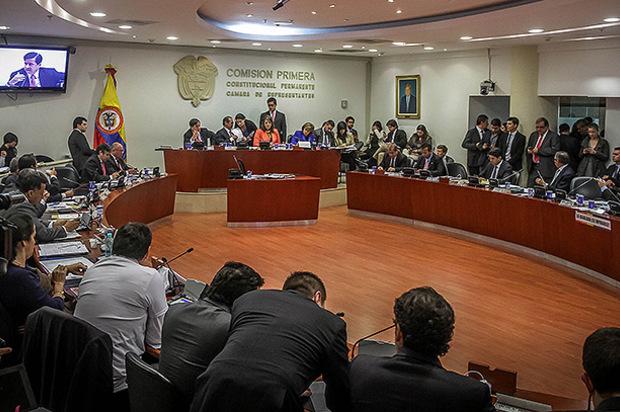 Cámara de representantes debate unificación de los periodos de gobernantes