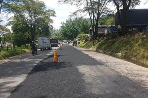 Intervención vial para mejorar la movilidad en la salida hacia Bogotá