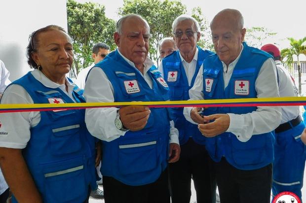Cruz Roja Seccional Meta inaugura nueva sede en el municipio de Guamal