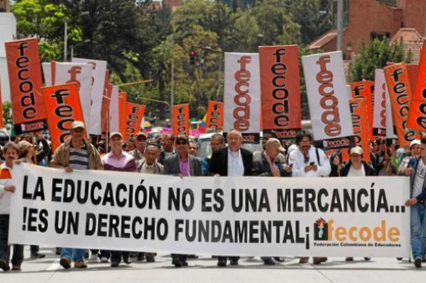 Hoy habrá marcha de Fecode y estudiantes