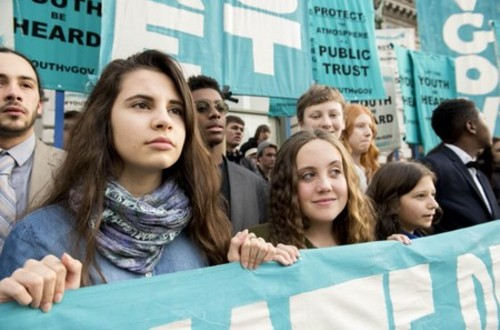 Niños del mundo demandan a sus gobiernos por cambio climático