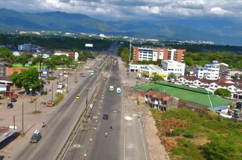 La vía Puerto López tendrá Glorieta