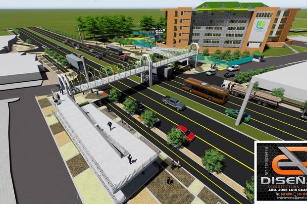 Se construirá puente peatonal en la Universidad Cooperativa