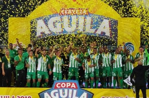 Nacional nuevo campeón de la Copa Aguila