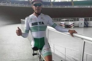 Medalla de plata ganó el Meta en el Nacional de Paraciclismo en Bogotá