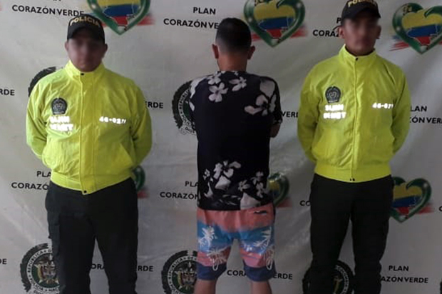 """Capturados en Granada  """"Diego"""" y """" Caballari"""" dos presuntos jíbaros"""