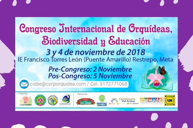 Congreso Internacional de Orquídeas, Biodiversidad y Educación