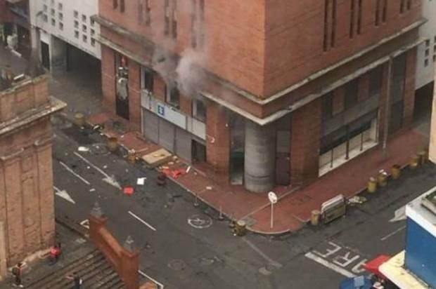 Explosión en fiscalía no fue un atentado: Secretario de seguridad de Cali