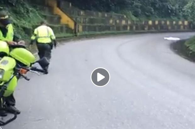 Dos personas de nacionalidad venezolana muertas en la vía antigua Bogotá