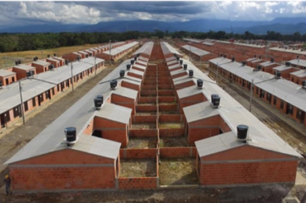 Se entregaron 313 casas del programa VIPA en La Madrid
