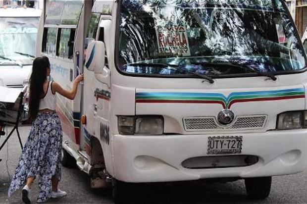 Fueron inmovilizadas 10 busetas de transporte público