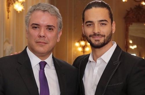 Polémica porque Presidente Duque recibió a Maluma y no a estudiantes