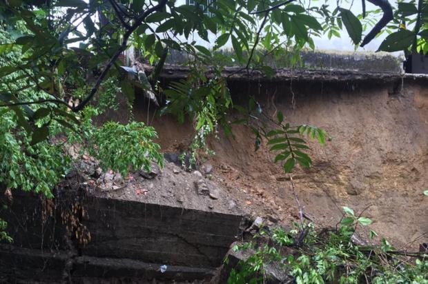 Fuertes lluvias causaron emergencia en barrio Brisas de la Esperanza