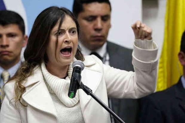Senador Uribe lanzó a Paloma Valencia a la Alcaldía de Bogotá