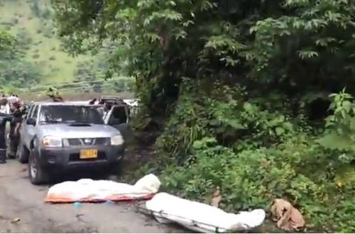 Pareja se suicidó en la vía Bogotá- Villavicencio
