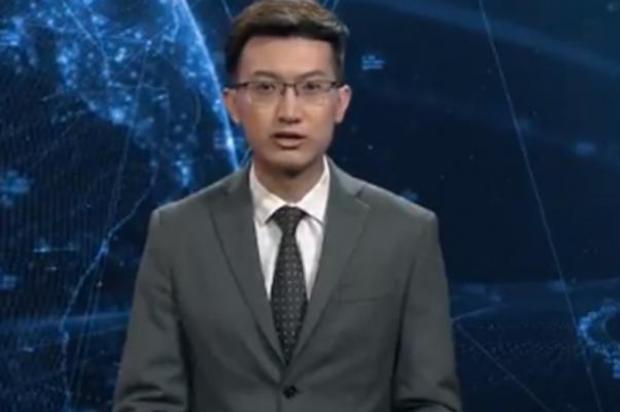 En China debutó como presentador de noticias un robot