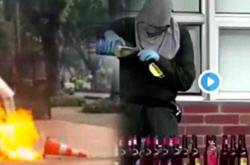 Fiscalía pide  30 millones de pesos por 'terroristas' de las marchas