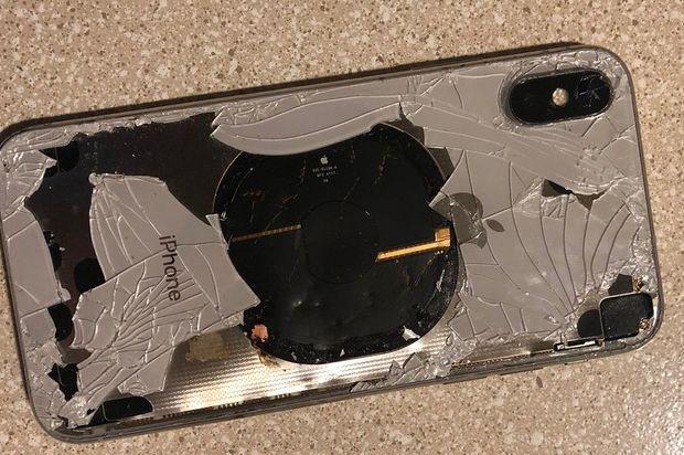 ¡Cuidado! Se incendia un iPhone X al actualizar el iOS