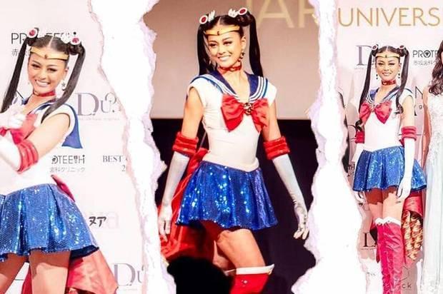 Miss Japón participará en Miss Universo disfrazada de Sailor Moon