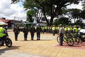 Policía pone en marcha el 'Plan Navidad' en 23 municipios del Meta