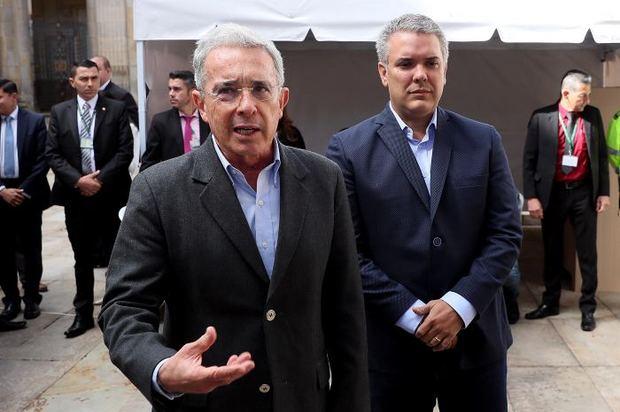 """""""Necesitamos que Duque enderece, porque si no, nos va muy mal"""": Uribe"""