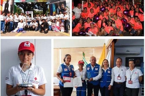 La Cruz Roja seccional Meta participa en Encuentro Nacional de Voluntariado