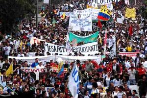 Gran paro nacional en Bogotá este 28 de noviembre.
