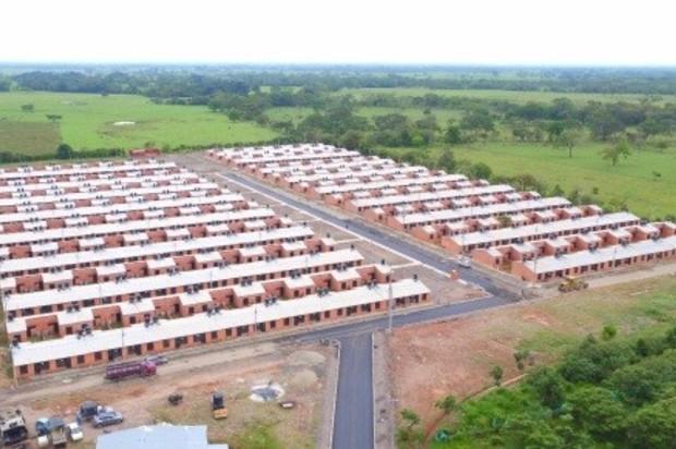 260 casas entregadas del proyecto habitacional Villa Claudia en Cumaral