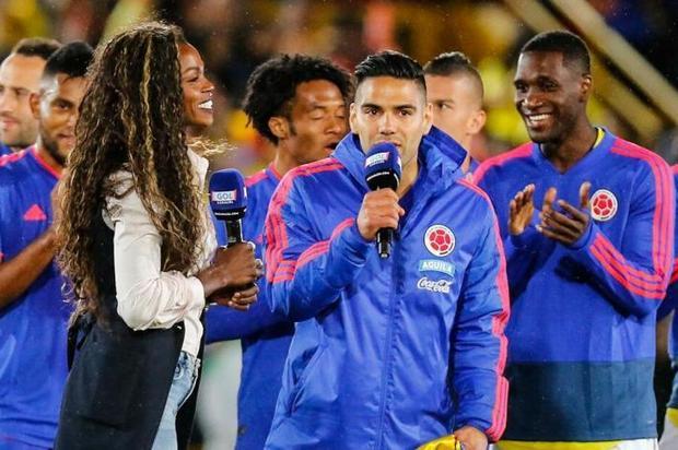 Falcao felicita a Caterine Ibargüen por su reconocimiento